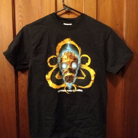 coheed and cambria Other - COHEED AND CAMBRIA T-SHIRT - Gas Mask Logo Tee NEW